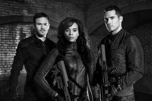 Killjoys black and white poster