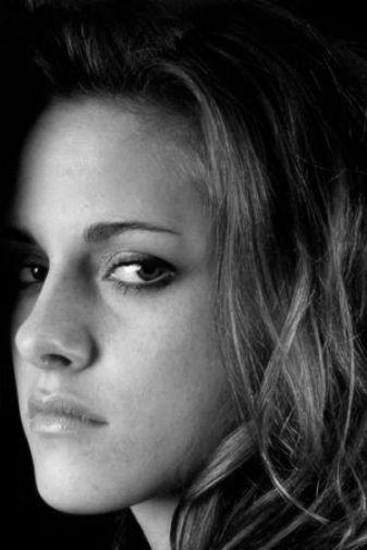Kristen Stewart black and white poster