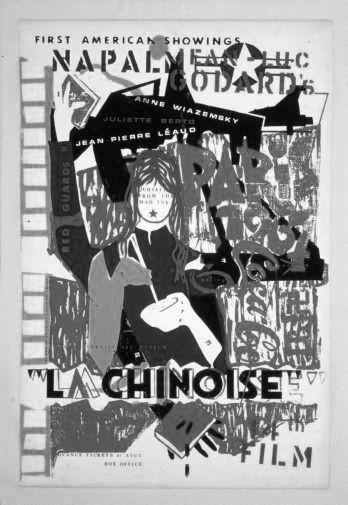 China La Chinoise poster tin sign Wall Art