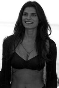 Lake Bell black and white poster