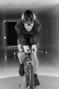 Lance Armstrong black and white poster