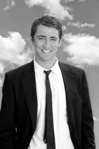 Lee Pace black and white poster