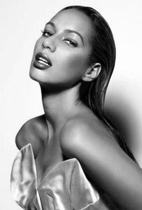 Leona Lewis black and white poster