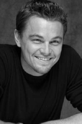 Leonardo Dicaprio black and white poster