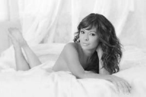 Lindsay Price black and white poster