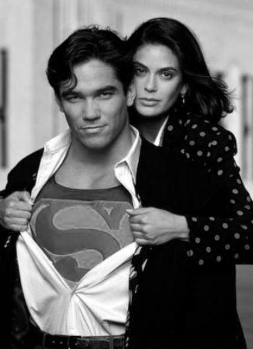 Lois And Clark poster tin sign Wall Art