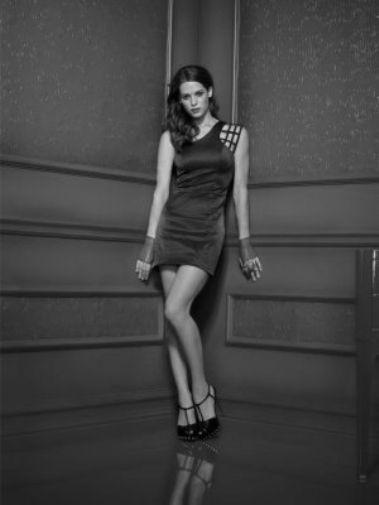 Lyndsy Fonseca black and white poster