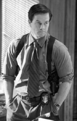 Mark Wahlberg black and white poster