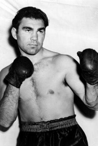 Max Schmeling black and white poster