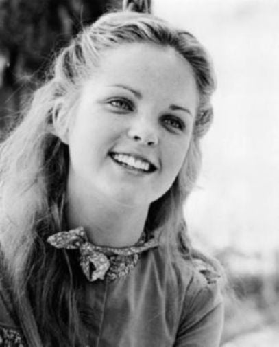 Melissa Sue Anderson black and white poster