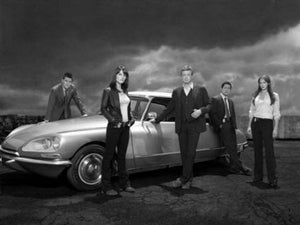 Mentalist black and white poster