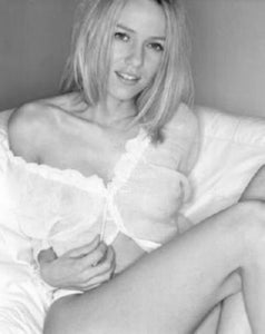 Naomi Watts black and white poster