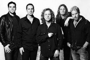 Night Ranger black and white poster