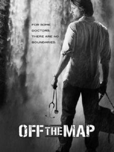 Off The Map black and white poster