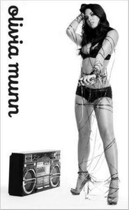 Olivia Munn poster tin sign Wall Art