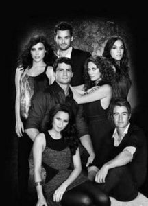 One Tree Hill black and white poster