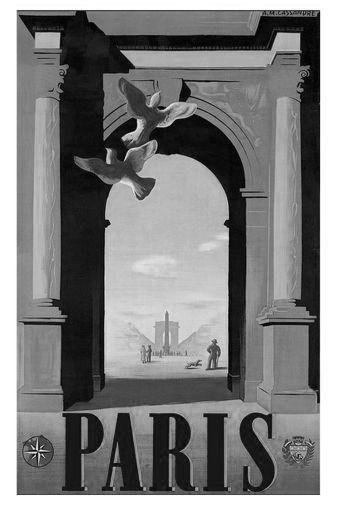 Paris poster tin sign Wall Art
