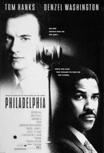 Philadelphia black and white poster