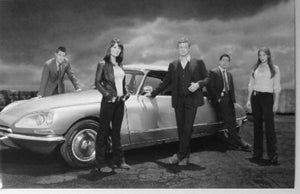 The Mentalist black and white poster
