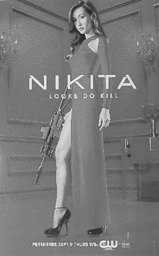 Nikita poster tin sign Wall Art