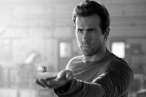 Ryan Reynolds poster tin sign Wall Art