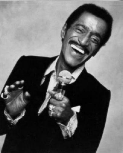 Sammy Davis Jr black and white poster