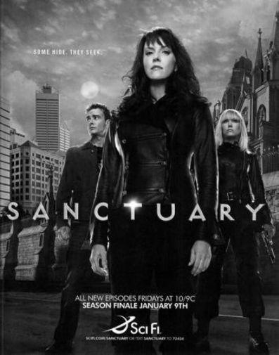 Sanctuary poster tin sign Wall Art