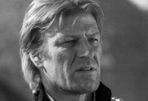Sean Bean black and white poster