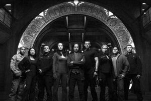 Sgu Cast poster tin sign Wall Art
