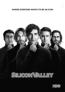 Silicon Valley poster tin sign Wall Art
