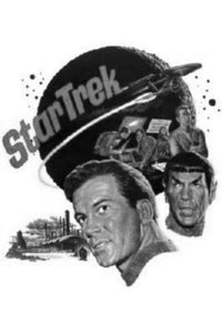 Star Trek Tos poster tin sign Wall Art