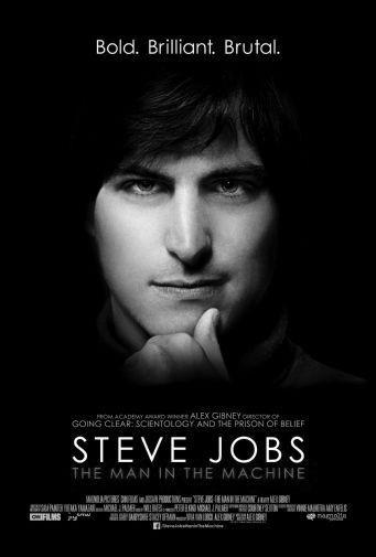 Steve Jobs black and white poster