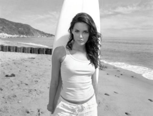 Taylor Cole black and white poster