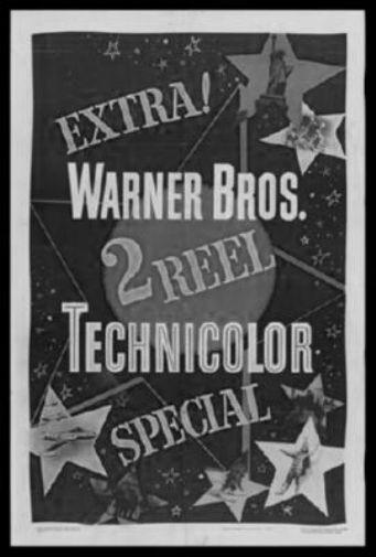 Technicolor poster tin sign Wall Art