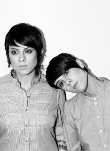 Tegan And Sara poster tin sign Wall Art