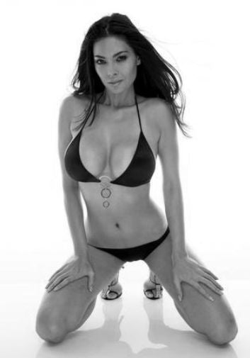 Tera Patrick black and white poster