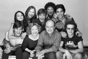 That 70S Show black and white poster