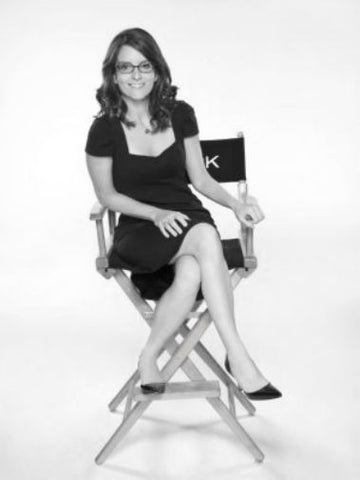 "Tina Fey Poster Black and White Mini Poster 11""x17"""