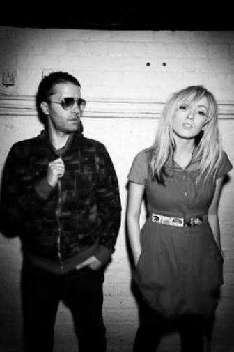 Ting Tings black and white poster
