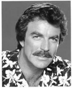 Tom Selleck poster tin sign Wall Art