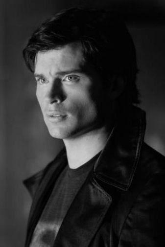 Tom Welling black and white poster