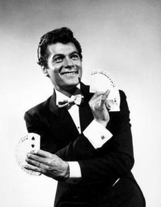 Tony Curtis black and white poster