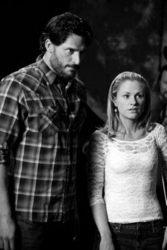 True Blood black and white poster