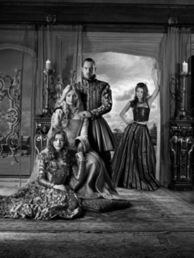Tudors black and white poster