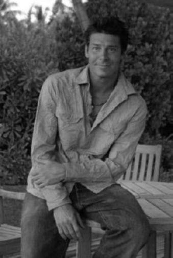 Ty Pennington black and white poster