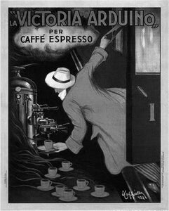 Victoria Arduino Coffee 1922 poster tin sign Wall Art