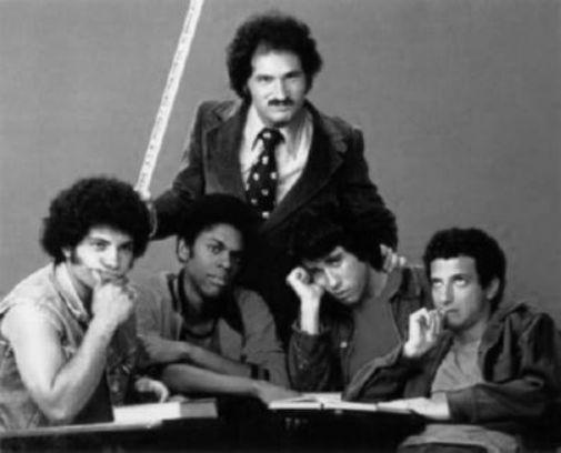 Welcome Back Kotter black and white poster