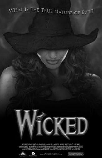 Wicked poster tin sign Wall Art