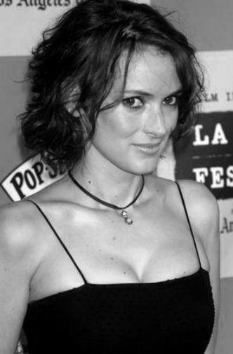 Winona Ryder poster tin sign Wall Art