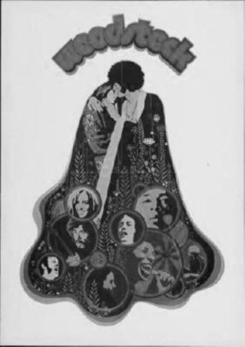 Woodstock black and white poster
